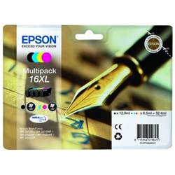 Epson Multipack 16XL Series 'Pen and Crossword' CMYK 1x12,9 ml + 3x6,5ml
