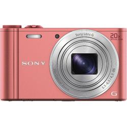 Aparat foto digital Sony DSCWX350P, 18 MP, Wi-Fi, Pink
