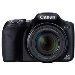 Canon Camera foto PowerShot SX530 Black, 16.1 MP, 50x zoom optic, filmare Full HD