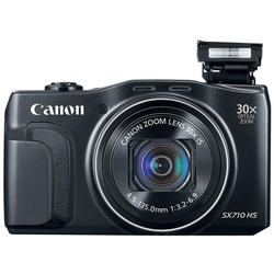 "Canon Camera foto PowerShot SX710 HS Black, 20 MP, 30x zoom optic, 3.0"" LCD,WiFi, filmare Full HD"