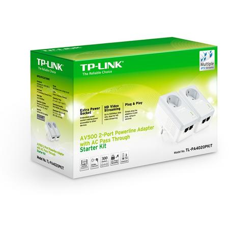PowerLine TP-LINK TL-PA4020P Kit
