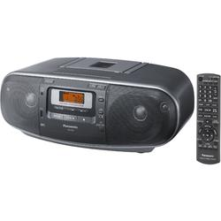 Panasonic Radiocasetofon cu CD RX-D55AEG-K, CD Player, Tuner FM, USB, 20W, Negru