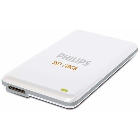 "SSD Extern Philips 2.5"", 128GB, USB3.0, R/W 240/150 MB/s, alb"