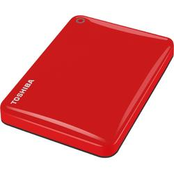 "Toshiba HDD Extern Canvio Connect II, 500GB 2.5"", USB3.0, red"