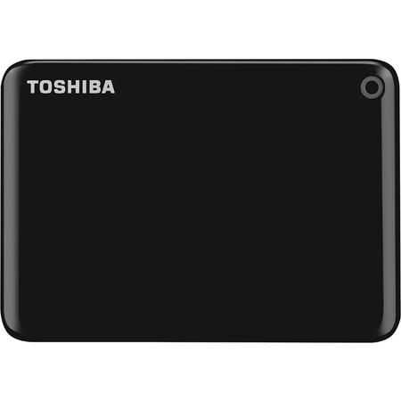 "Toshiba HDD Extern Canvio Connect II, 1TB 2.5"", USB3.0, black"