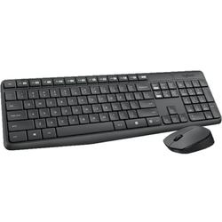 Logitech Tastatura + Mouse Wireless Combo MK235