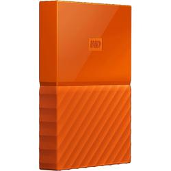 "Western Digital HDD Extern My Passport 2.5"", 1TB, USB 3.0, Orange"