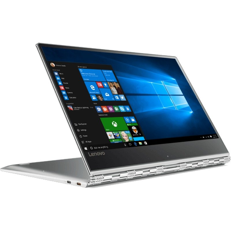 Laptop 2-in-1 Lenovo 13.9 Yoga 910, Fhd Ips Touch, Intel Core I5-7200u, 8gb Ddr4, 256gb Ssd, Gma Hd 620, Win 10 Home, Silver