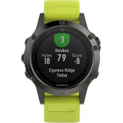 Smartwatch Garmin Fenix 5, Yellow