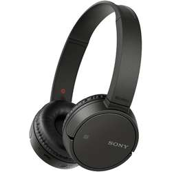 Sony Casti audio MDRZX220BTB, Wireless, Bluetooth, NFC, Negru