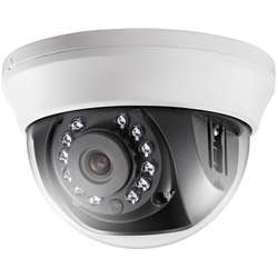 "Hikvision Camera video analog Dome HD720p ,1/3"", 20m IR"