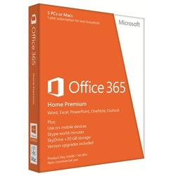 Microsoft Office 365 Home Premium, Engleza, licenta 1 an, PKC 6GQ-00020