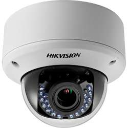 Hikvision Camera video analog Dome, HD1080p ,2MP, Motorized Vari Focal, IR