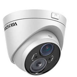 Hikvision Camera video analog Dome, TurboHD 720P, Vari Focal, IR, Outdoor