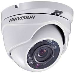 Hikvision Camera video analog Dome 4in1;HD1080p,2MP, 20m IR, Outdoor