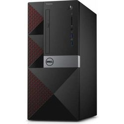 Sistem desktop DELL Vostro 3668 MT,  Intel Pentium G4560 3.50GHz Kaby Lake, 4GB DDR4, 500GB HDD, GMA HD 630, Linux