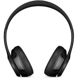 Casti audio cu banda Beats Solo 3 by Dr. Dre, Wireless, Gloss Black