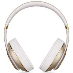 Casti audio cu banda Beats Studio Wireless by Dr. Dre, Gold
