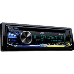 JVC Radio CD auto KD-R981BT, 4x50W, USB, AUX, Variatii culori 3 zone, Bluetooth