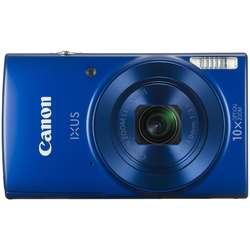 Canon Aparat foto digital IXUS 190, 20MP, Wi-Fi, Albastru + Card 8 GB + Geanta