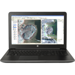 "Laptop HP ZBook  G3, 15.6""  FHD, Intel Core i7-6700HQ, Quadro M1000M-2GB, RAM 8GB, SSD 256GB, Windows 7 Pro / 10 Pro, Negru"