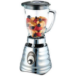 Oster Blender performant Classic Chrome, 600 W, 3 viteze, 1.25 l, inox