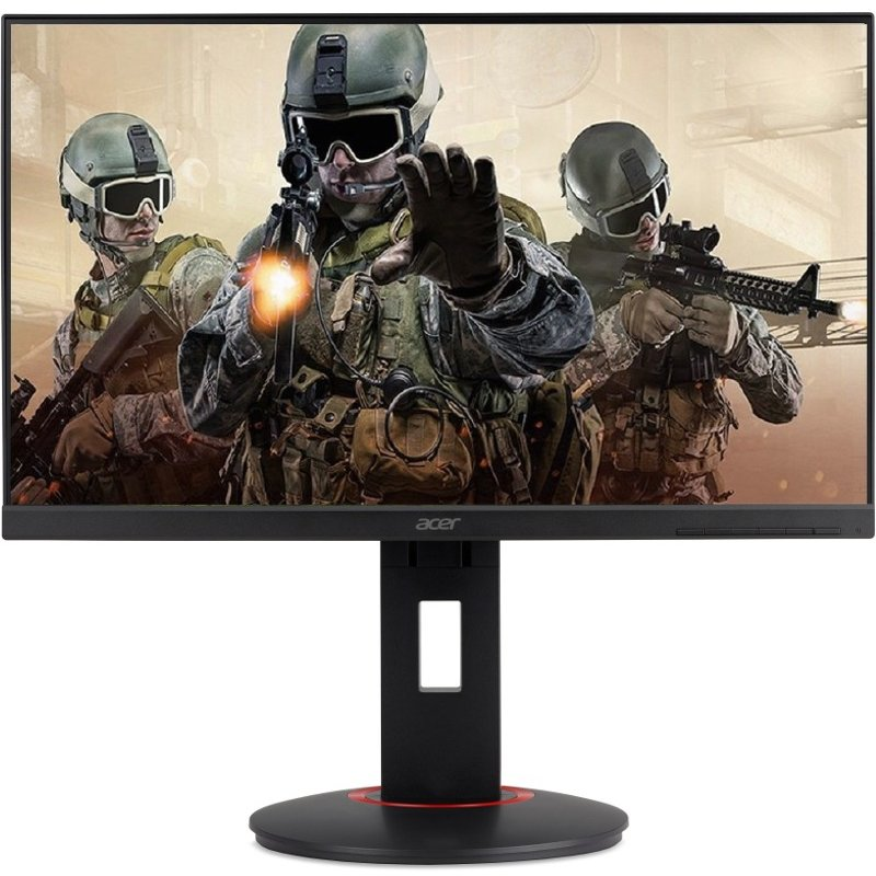 Monitor LED Acer Gaming XF240YUbmiidprzx 23.8 inch 2K 1 ms Black FreeSync 144Hz