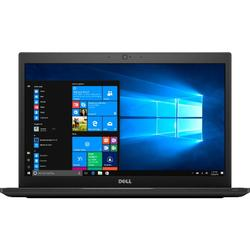 Ultrabook DELL 14'' Latitude 7480 (seria 7000), FHD, Intel Core i7-7600U , 16GB DDR4, 512GB SSD, GMA HD 620, Win 10 Pro, Black