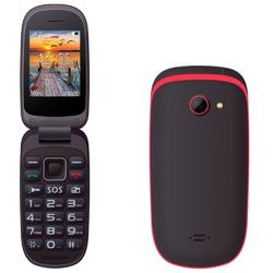 MaxCom Telefon mobil MM818, Dual SIM Black Red