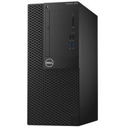 Sistem desktop Dell OptiPlex 3050 MT , Intel Core I5-7500 3.40 GHz,  4GB, 500GB, DVD-RW, Intel HD Graphics,  Win 10 Pro, Mouse + Tastatura, Negru