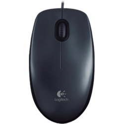 Logitech Mouse optic M100 (dark gray)