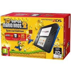 Consola NINTENDO 2DS BLACK & BLUE & NEW SUPER MARIO BROS 2 - GDG