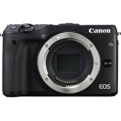 Aparat foto Mirrorless Canon EOS M3 View Finder, Negru