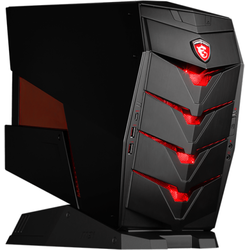 Sistem desktop MSI Aegis, Intel Core i5-6400 2.7GHz Skylake, 16GB DDR4, 1TB HDD + 256GB SSD, GeForce GTX 1060 6GB, Wi-Fi, Win 10 Home
