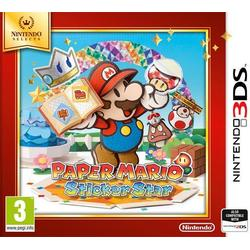 PAPER MARIO STICKER STAR SELECTS - 3DS