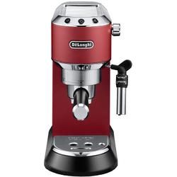 DeLonghi Espressor manual Dedica Style EC 685, 1300 W, 15 bar, 1.1 l, slim, rosu