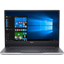 Laptop DELL 15.6'' Inspiron 7560 (seria 7000), FHD, Intel Core i7-7500U , 8GB DDR4, 1TB + 128GB SSD, GeForce 940MX 4GB, Win 10 Home, Grey