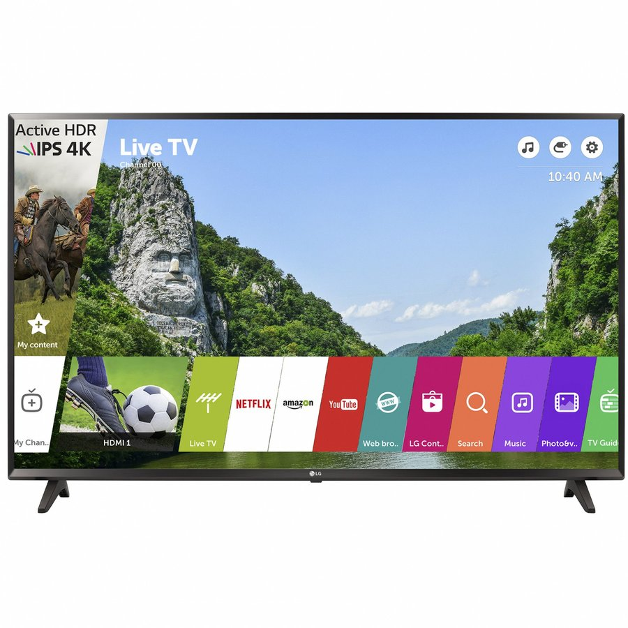 Televizor Led 43uj6307, Smart Tv, 108 Cm, 4k Ultra Hd
