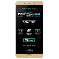 "Allview Telefon mobil X4 Soul LITE, Full HD 5.5"", Dual Camera, 3GB RAM, 16GB, 4G, Gold"