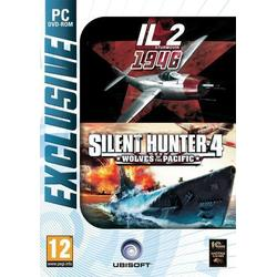 Ubisoft Ltd IL-2 STURMOVIK 1946 & SILENT HUNTER 4 EXCLUSIVE - PC