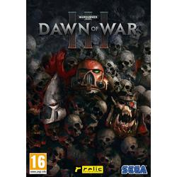 SEGA DAWN OF WAR 3 - PC