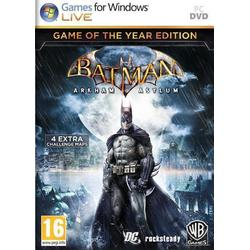 Warner Bros Entertainment BATMAN ARKHAM ASYLUM GOTY - PC