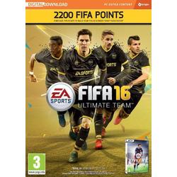 Electronic Arts FIFA 16 2200 FUT POINTS (CODE IN A BOX) - PC