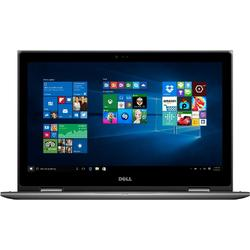 Laptop 2-in-1 DELL 15.6'' Inspiron 5578 (seria 5000), FHD IPS Touch, Intel Core i3-7100U, 4GB DDR4, 500GB, GMA HD 620, Win 10 Home, Grey