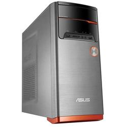 Sistem desktop ASUS M32CD, Intel Core i7-6700 3.4GHz Skylake, 8GB DDR4, 2TB + 8GB SSH, GeForce GTX 960 2GB, FreeDos, Orange