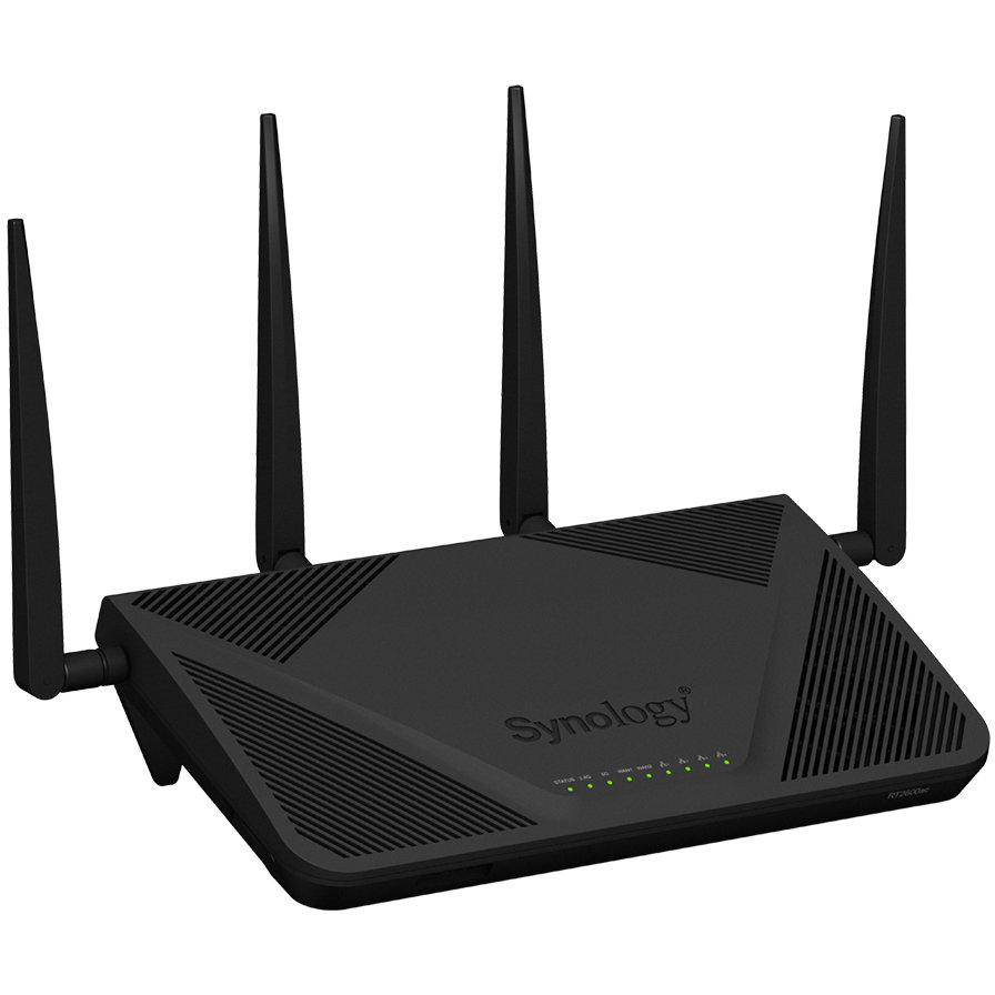 Router Wireless Rt2600ac Dual-band 800 + 1733 Mbps, Gigabit, Usb 2.0, Usb 3.0, Negru
