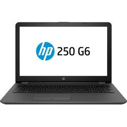 "Laptop HP 15.6"" 250 G6, Intel Core i3-6006U, 4GB DDR4, 500GB, GMA HD 520, FreeDos, Dark Ash Silver"