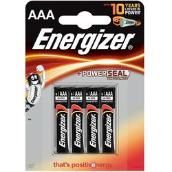 Energizer Baterii alcaline Base Power Seal, AAA, LR03, 1.5V, 4 pcs