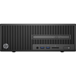 Sistem desktop HP 280 G2 SFF, Intel Core i3-6100 3.7GHz Skylake, 4GB DDR4, 500GB HDD, GMA HD 530, FreeDos