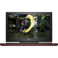 "Laptop Gaming Dell Inspiron 7567 Intel Core i7-7700HQ 2.80 GHz, Kaby Lake, 15.6"", UHD, 8GB, 1TB + 128GB SSD, nVIDIA GeForce GTX 1050 Ti 4GB, Windows 10 Home, Black"